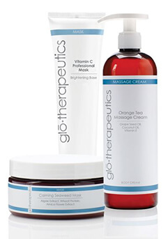 Picture of Glo-Therapeutics skin care products