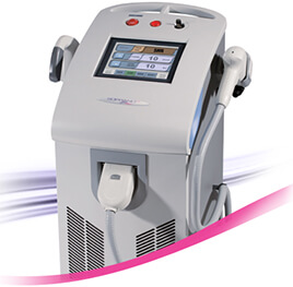 Picture of Soprano XL machine used for laser hair removal